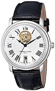 Frederique Constant Men's FC315M4P6 Persuasion Analog Display Swiss Automatic Black Watch