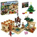 【メーカー特典】レゴ(LEGO) マインクラフト イリジャーの襲撃 21160 + クリスマスツリーミニセット付き