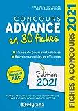 Concours Advance 30 fiches - Méthodes, savoir-faire et actuces