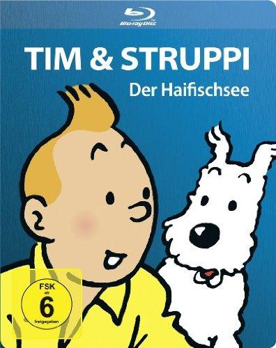 Tim & Struppi - Der Haifischsee - Steelbook [Blu-ray] [Limited Edition]