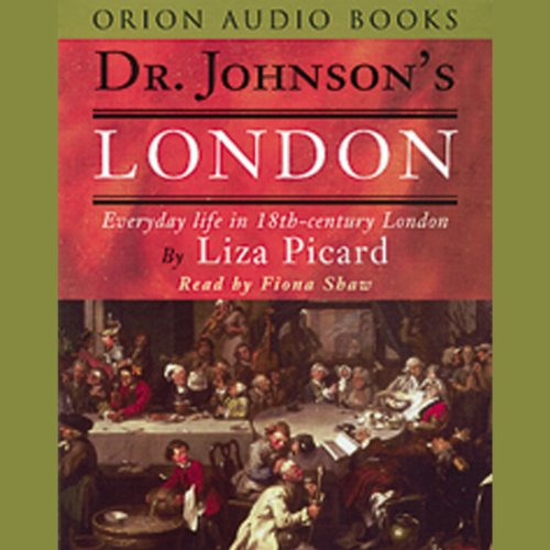 Dr. Johnson's London audiobook cover art
