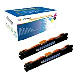 LinkToner Compatible Toner Cartridge Replacement High Yield for Brother TN1000 BK 2 Pack Laser Printer DCP-1510, DCP-1511, DCP-1512, DCP-1512W, DCP-1610, DCP-1610W