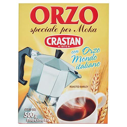 """crastan: """"Orzo Speciale Pro Moka Toasted Erdspieß"""" Italienische Gerste 17,6Unze (500gr) Paket [Italienische Import]"""