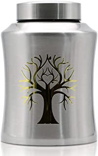 ENBOVE Tree of Life Classy Adult Urns for Human Ashes - Beautiful Silver and Gold Large Urn Honors Your Loved One, Comfort...