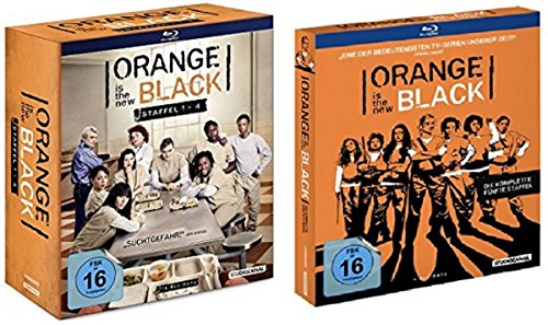 Orange is the New Black - Staffeln 1-5 [Blu-ray]