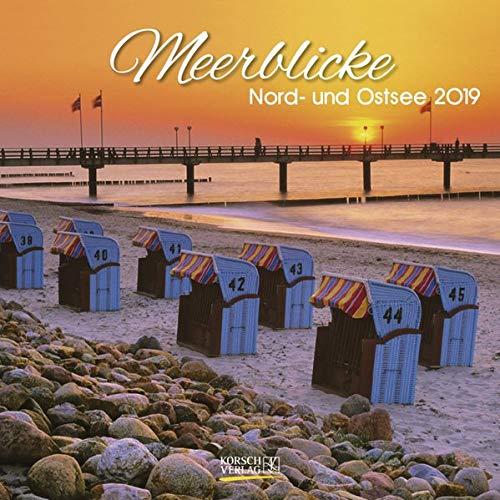 Meerblicke (BK) 227819 2019: Broschürenkalender mit Ferienterminen. Format: 30 x 30 cm