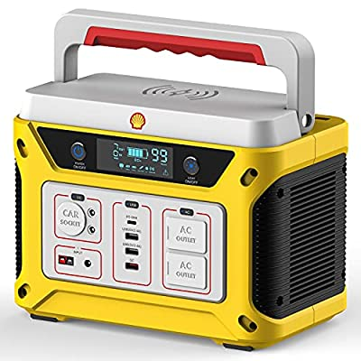 Shell Portable Power Station 583Wh Backup Lithi...