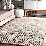 nuLOOM Glendora Chevron Wool Area Rug, 8' 6