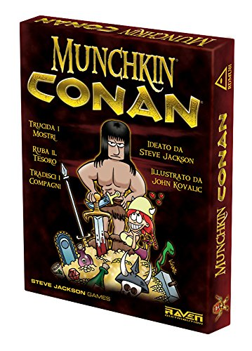 Raven Munchkin Conan, Mehrfarbig