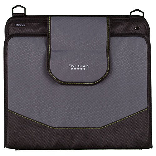 Five Star Sewn Zipper Binder, 2 Inch 3 Ring Binder With 4 Inch Capacity, Assorted Colors, Color Selected For You, 1 Count (28044) Photo #23