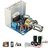 Bluelover Placa De Amplificador De Doble Canal 15W Tda7297 para Arduino
