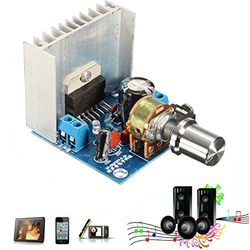 Bluelover Placa De Amplificador De Doble Canal 15W