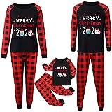 Pijama Navideña para Pareja - Pijamas Navidad Familia 3 para Mujer Niño Niña Hombre - Merry Christmas 2020