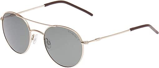 يو اس بولو اسن نظارة شمسية بتصميم كات اي من فاشون تي في للنساء - اطار بلون اسود، عدسات بلون اسود