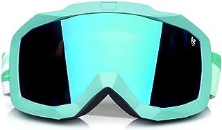 Snowboard Ski Goggles Double Layers Goggles Glasses for Skiing Protection Snow Ski Glasses Anti-Fog Ski Mask,6 Dear-You