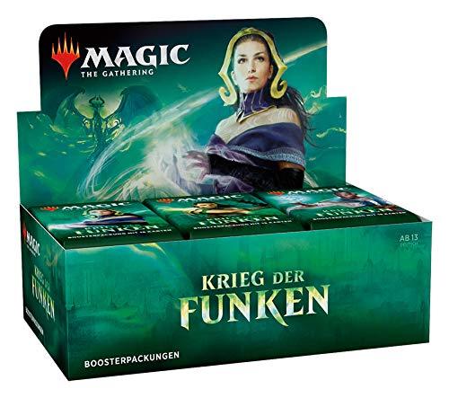 Magic The Gathering - Krieg der Funken - Boosters / Displays Auswahl | DEUTSCH | Sammelkartenspiel TCG, Booster:12er