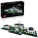 LEGOArchitecture Modello della Casa Bianca, Collezione Monumenti per adulti, Idea regalo da collezione, 21054
