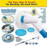 MOHANKHEDA Amazing Spin Power Scrubber Machine Floor Cleaning Bathroom Tiles Cleaner Tool