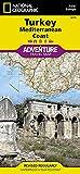Turkey: Mediterranean Coast (National Geographic Adventure Map, 3019)