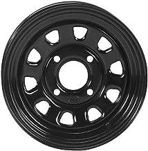 ITP 16-18 Yamaha YXZ1000R Delta Steel Wheel (Front Wheel / 4/110 5+2 14x7) (Black)