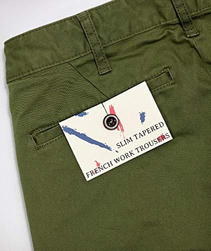 [JAPANBLUEJEANS]コーマ糸フレンチワークチノ(ネイビー)[J22210J01]W30