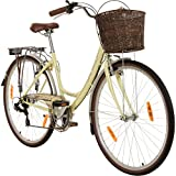 Galano 28 Zoll Piccadilly 7 Gang Citybike Stadt Fahrrad, Rahmengrösse:41 cm