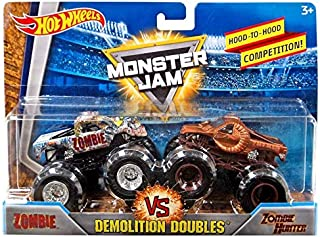 monster truck vs zombie