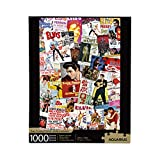 AQUARIUS Elvis Movie Poster Collage Puzzle (1000 Piece Jigsaw Puzzle) - Officially Licensed Elvis Merchandise & Collectibles - Glare Free - Precision Fit - Virtually No Puzzle Dust - 20 x 28 Inches