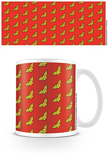 DC Originals MG23658 (Wonder Woman Logo Pattern) Mug, Multicolore, 11oz/315ml
