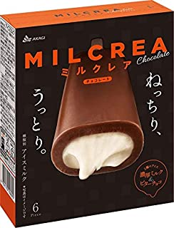 赤城乳業 MILCREA チョコレート44ml×6本×8箱