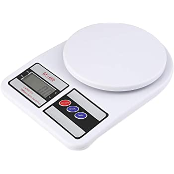 BICHI™ Electronic Digital Kitchen Scale, Kitchen Scale Digital Multipurpose, Weight Machines for Kitchen, Weight Machine, Weight Scale Kitchen, Kitchen Weight Machine, Kitchen Weighing Scale Digital