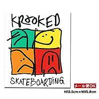 Krooked KD Ultra Sticker クルキッド ステッカー デカール