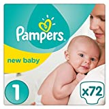 Pampers Premium Protection Nappies New Baby Jumbo Pack - Size 1 by Pampers