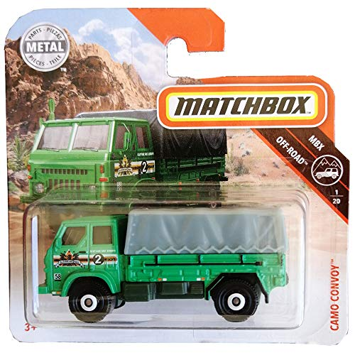 Matchbox Camo Convoy Mbx Off-Road