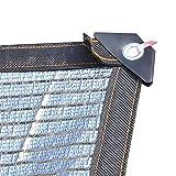 GUOOK Sun Shade Cloth 75-80% Red De Enfriamiento De Aluminio Reflectante Sombrilla para Jardines Granjas Carports Techos Invernaderos (TamañO: 3m Y Veces; 5m (10ftx16ft))