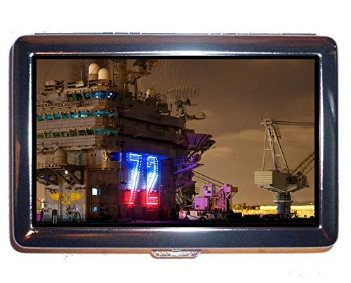 Custodia Creative Storage, Military USS Abraham Lincoln (CVN 72) Porta monete da guerra per 14 sigarette