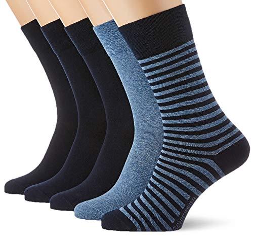 Schiesser Herren Multipack 5 Pack Herrensocken Strümpfe Socken, Sortiert 3, 39/42 (5er Pack)