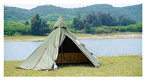 pwmunf Tienda de campaña para Acampar al Aire Libre Configurar fácilmente Playa Plegable portátil Viajando Senderismo Sombrilla de Sol Impermeable (Color : Green)