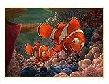 xuyuandass Cartoon Findet Nemo Leinwand Poster Einfache