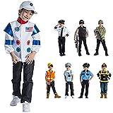Viste a América - 834 - Establecer Vestuario Astronauta - Edad 3-6 años - One Size - Niños 3-6 años - Multicolor
