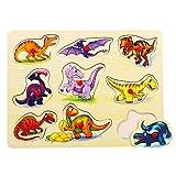 Bino Europe Puzzle sobre la tabla, dinosaurios 88099 , color/modelo surtido