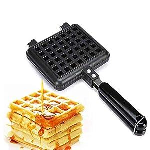 Sandwich Maker Fer à gaufre avec revêtement antiadhésif Panini Press Grill Taille compacte avec système thermostatique automatique pour le petit-déjeuner, le déjeuner ou les collations zhuang94