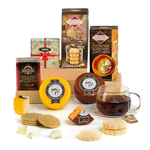 Hay Hampers Best of British Cheese & Treats Father's Day Hamper Gift Idea- Free UK Delivery