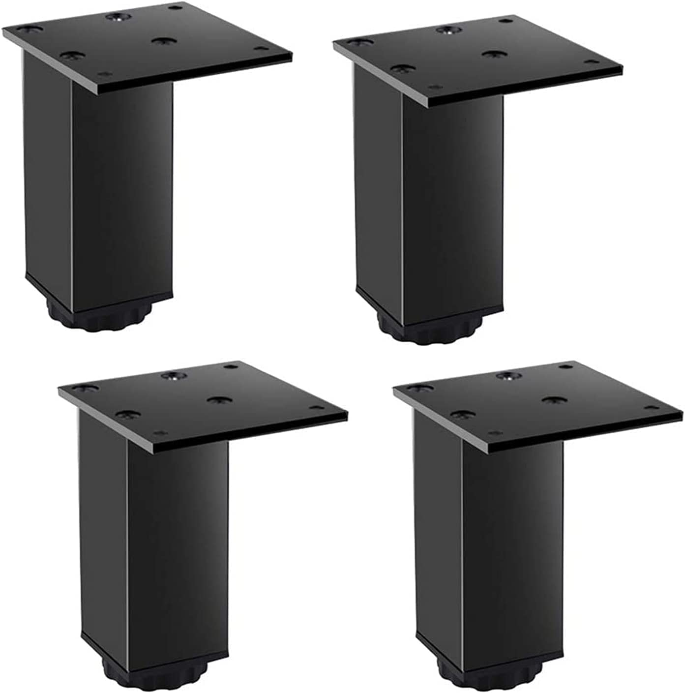 Free Shipping New AYHMT Aluminum Furniture Legs Square Support 4 Pi Sofa Leg Now free shipping