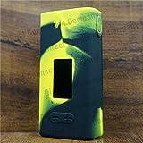 Silicone Case for Cuboid Mini JOYETECH 80W Skin Sleeve Wrap (Yellow/Black)