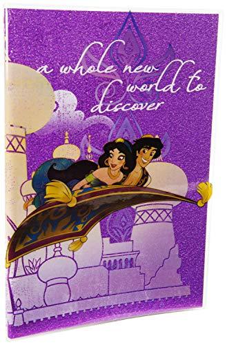 Sambro 1 Aladdin Glitter Premium Notebook, multicolore