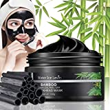 Blackhead Remover Mask, Bamboo Charcoal Peel Off Mask, Black Mask for Both Men and Women, Purifying...