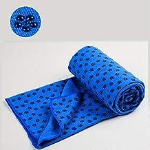 Goede kwaliteit 183 * 63 cm antislip yoga handdoek deken 100% microfiber zweet absorberende yoga pilates mat cover toren s...