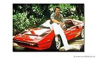"""Das Wandbild """"Ferrari Magnum"""" 120x80cm ist ein hochwertiger Kunstdruck. Es besteht aus einem Teil mit einer Breite von 120 cm. Dieses Bild umfasst ein breitgefächertes Farbspektrum. Das Wandbild ist auf einen Holzkeilrahmen gespannt, fertig zum Aufhä..."""