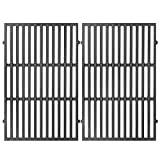 Grates for Weber Spirit 300 Series, Genesis Silver/Gold B & C, E-310 E-330 Grill Replacement Parts, Cast Iron, 17.5 x 11.9 Inch, 2-Pack